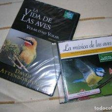CD di Musica: CD LA MÚSICA DE LAS AVES Y DVD VOLAR O NO VOLAR BBC DAVID ATTENBOROUGH . Lote 79882257