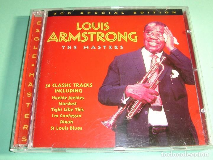 LOUIS ARMSTRONG / THE MASTERS / 36 CLASSIC TRACKS / THE BEST OF / GREATEST HITS / 2 CD (Música - CD's Jazz, Blues, Soul y Gospel)