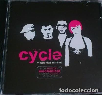 CYCLE - MECHANICAL REMIXES - CD QUE INCLUYE REMEZCLAS Y UN VIDEOCLIP. (Música - CD's Rock)
