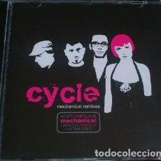 CDs de Música: CYCLE - MECHANICAL REMIXES - CD QUE INCLUYE REMEZCLAS Y UN VIDEOCLIP.. Lote 80015277