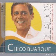 CDs de Música: CHICO BUARQUE - 2LADOS: O MELHOR DO CANTOR, O MELHOR DO COMPOSITOR (2CD 2010, UNIVERSAL) NUEVO. Lote 80026557