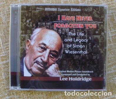 I HAVE NEVER FORGOTTEN YOU: THE LIFE & LEGACY OF SIMON WIESENTHAL CD, 2007 (Música - CD's Melódica )