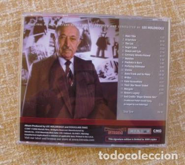 CDs de Música: I HAVE NEVER FORGOTTEN YOU: THE LIFE & LEGACY OF SIMON WIESENTHAL CD, 2007 - Foto 2 - 80052481