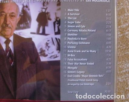 CDs de Música: I HAVE NEVER FORGOTTEN YOU: THE LIFE & LEGACY OF SIMON WIESENTHAL CD, 2007 - Foto 3 - 80052481