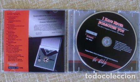 CDs de Música: I HAVE NEVER FORGOTTEN YOU: THE LIFE & LEGACY OF SIMON WIESENTHAL CD, 2007 - Foto 6 - 80052481