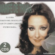 CDs de Música: MARIFE DE TRIANA,EXITOS DOBLE CDS. Lote 80067369