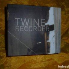 CDs de Música: TWINE. RECORDER. CD + BONUS VIDEO. BIP.HOP, EDITADO EN FRANCIA. IMPECABLE. Lote 80136709