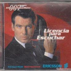 CDs de Música: LICENCIA PARA ESCUCHAR. CANCIONES DE LA PELÍCULA 'EL MAÑANA NUNCA MUERE'.. Lote 80172461