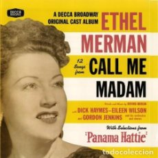 CDs de Música: ETHEL MERMAN - 12 SONGS FROM CALL ME MADAM - PRECINTADO. Lote 80217633