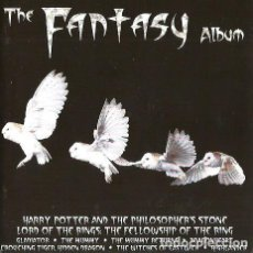CDs de Música: DOBLE CD THE FANTASY ALBUM ( HARRY POTTER, SIMBAD, THE MUMMY, CONAN, LORD OF THE RINGS, GULLIVER ETC. Lote 80229845