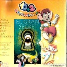 CDs de Música: CD EL GRAN SECRET ( BANDA SONORA DE MANUEL GIL & RUDY GNUTTI ) . Lote 80230337