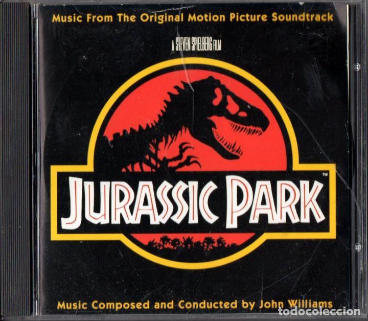 PARQUE JURÁSICO (JURASSIC PARK) BSO POR JOHN WILLIAMS (Música - CD's Bandas Sonoras)