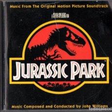 CDs de Música: PARQUE JURÁSICO (JURASSIC PARK) BSO POR JOHN WILLIAMS. Lote 203541372