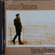 CDs de Música: LOQUILLO Y TROGLODITAS. MIENTRAS RESPIREMOS. CD. Lote 80290453