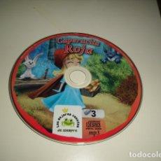 CDs de Música: CD LOS MEJORES CUENTOS DE SIEMPRE CAPERUCITA ROJA SIN CARATULA SOLO CD BAL-4. Lote 80296369