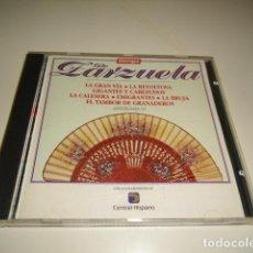 CDs de Música: CD TIEMPO DE ZARZUELA LA GRAN VIA . Lote 80304905
