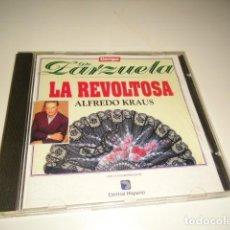 CDs de Música: CD TIEMPO DE ZARZUELA LA REVOLTOSA ALFREDO KRAUS . Lote 80305061