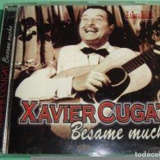 CDs de Música: XAVIER CUGAT / BESAME MUCHO / CD. Lote 80306541