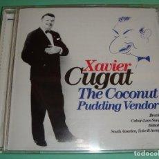 CDs de Música: XAVIER CUGAT / THE COCONUT PUDDING VENDOR (EL MANISERO) / GREATEST HITS / THE BEST OF / CD. Lote 80320845