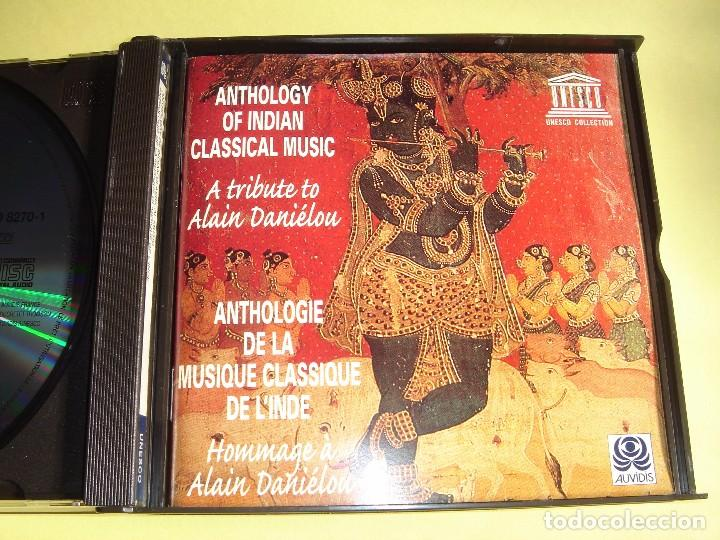 CDs de Música: ANTHOLOGY OF INDIAN CLASSICAL MUSIC / A TRIBUTE TO ALAIN DANIELOU / FOLK / AUVIDIS / 3 CD - Foto 3 - 150327421