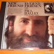CDs de Música: EUGENE FRIESEN / NEW FRIEND / CON PAUL HALLEY / LIVING MUSIC / CD. Lote 80347089