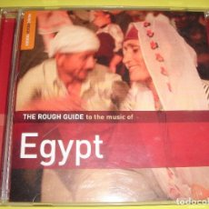 CDs de Música: EGYPT / THE ROUGH GUIDE / CANCIONES DE EGIPTO / CANCIONES EGIPCIAS / CD. Lote 80349365
