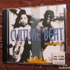 CDs de Música: CULTURE BEAT- CD- TITULO SERENITY- CON 14 TEMAS - MADE IN GERMANY- ORIGINAL DEL 93- NUEVO ABIERTO. Lote 80360337