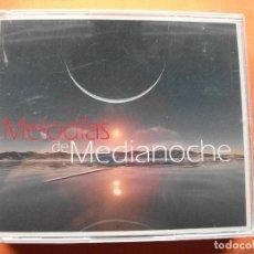 CDs de Música: MELODIAS DE MEDIA NOCHE 4 CDS Y DEJATE LLECAR PRECINTADO. Lote 80392161