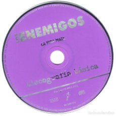 CDs de Música: LOS ENEMIGOS LA VIDA MATA SOLO EL CD (SIN CARATULA). Lote 80433245