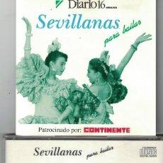CDs de Musique: SEVILLANAS Y RUMBAS - SEVILLANAS PARA BAILAR - CORO RAYA REAL. Lote 80434709