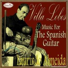 CDs de Música: LAURINDO ALMEIDA CD SPANISH GUITAR SPAIN CLASSICAL GUITARRA CLASICA VILLA LOBOS. Lote 103029840
