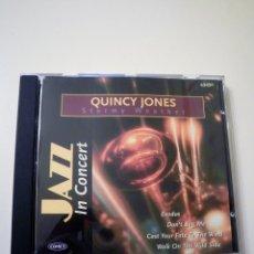 CDs de Música: QUINCY JONES, STORMY WEATHER (CD, JAZZ IN CONCERT). Lote 80473417