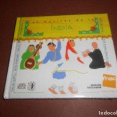 CDs de Música: LAS MUSICAS DE LA INDIA - LIBRO CD - ( EDICION EXCLUSIVA FNAC ) - MALKIT SHING - BAPI DAS BAUL .... Lote 80474649