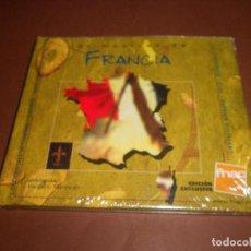 CDs de Música: LAS MUSICAS DE FRANCIA - LIBRO CD - ( EDICION EXCLUSIVA FNAC ) - RENAT SETTE - LA CHAVANNEE - DJAL. Lote 80474813