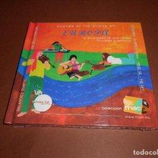 CDs de Música: CUANDO EL RIO SUENA EN EUROPA LA DIVERSIDAD DE SUS VENAS FLUVIALES Y SONORAS - LIBRO CD - ( FNAC ). Lote 80475141