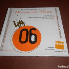 CDs de Música: LA DIVERSIDAD DE LAS MUSICAS DEL MUNDO ( EDICION EXCLUSIVA FNAC ) - PRECINTADO - OOJAMI - KROKE .... Lote 80475617