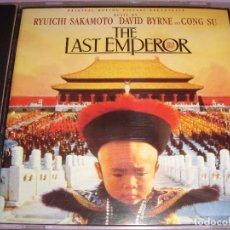 CDs de Música: THE LAST EMPEROR / ORIGINAL SOUNDTRACK / RYUICHI SAKAMOTO / BANDA SONORA / BSO / CD. Lote 80487977