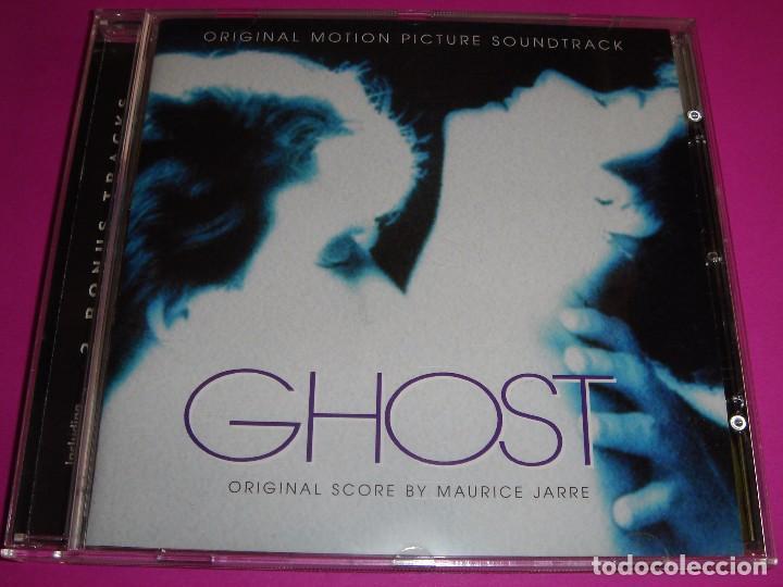 GHOST / ORIGINAL SOUNDTRACK / MAURICE JARRE / ¡¡CONTIENE 2 BONUS TRACKS!! / BANDA SONORA / BSO / CD (Música - CD's Bandas Sonoras)