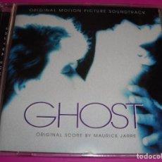 CDs de Música: GHOST / ORIGINAL SOUNDTRACK / MAURICE JARRE / ¡¡CONTIENE 2 BONUS TRACKS!! / BANDA SONORA / BSO / CD. Lote 80489293