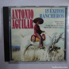 CDs de Música: ANTONIO AGUILAR - 15 ÉXITOS RANCHEROS - CD 1993. Lote 80500925