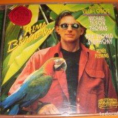 CDs de Música: HEITOR VILLA-LOBOS / BACHIANAS BRASILEIRAS N. 4,5,7,9 Y CHOROS N. 10 / MICHAEL TILSON THOMAS / CD. Lote 80505137