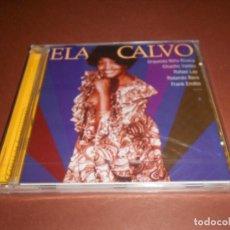CDs de Música: ELA CALVO - CD - PRECINTADO - COLECCION GUARACHERAS - ORQUESTA NIÑO RIVERA - FRANK EMILIO .... Lote 80517869