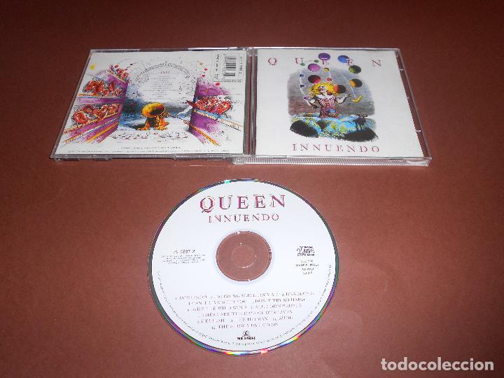 QUEEN ( INNUENDO ) - CD - 0777 7 95887 2 5 - I'M GOING SLIGHTLY MAD - THE HITMAN - BIJOU - DELILAH, usado segunda mano