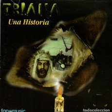 CDs de Música: DOBLE CD ÁLBUM (2 CDS): TRIANA - UNA HISTORIA - 18 TRACKS - FONOMUSIC 1995. Lote 80591854