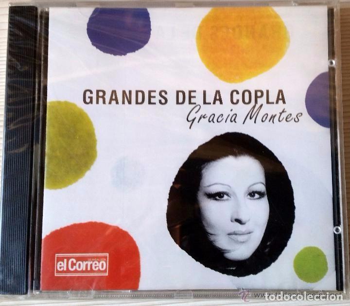 GRANDES DE LA COPLA GRACIA MONTES. EDICIÓN EL CORREO DE ANDALUCÍA (Música - CD's Flamenco, Canción española y Cuplé)