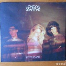 CDs de Música: CD LONDON GRAMMAR - IF YOU WAIT (I9). Lote 80726462