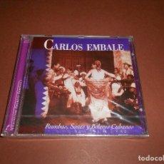 CDs de Música: CARLOS EMBALE ( RUMBAS SONES Y BOLEROS CUBANOS ) - CD - PRECINTADO - COLECCION GRANDES SONEROS. Lote 80767898