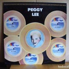 CDs de Música: PEGGY LEE ---- GOLDEN GREATS. Lote 80816227