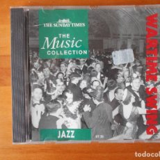 CDs de Música: CD WARTIME SWING - JAZZ - THE MUSIC COLLECTION (K9). Lote 80820279