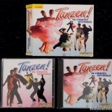 CDs de Música: TANZEN IM STRIKTEN RHYTHMUS (BAILE EN RITMO ESTRICTO) -VARIOS INTÉRPRETES- BOX 2 CDS. Lote 80891563